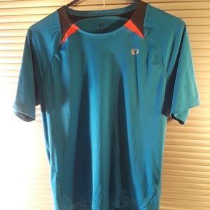 Pearl Izumi Mens Cycling Blue Racer Shirt- Small